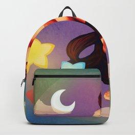 Dreams in Aquamarine Backpack
