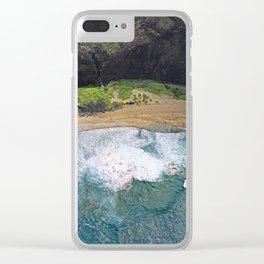 Hawaii's Most Romantic Beach Clear iPhone Case