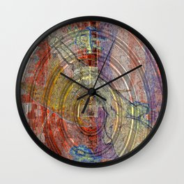 Spin Up The Drives Wall Clock