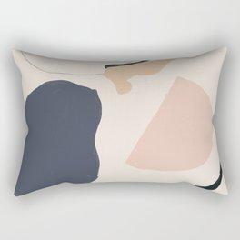 Organic Abstract Rectangular Pillow