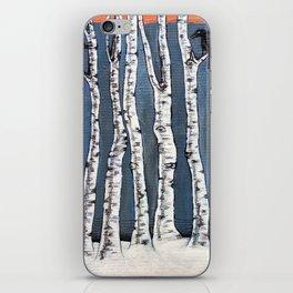 White book iPhone Skin