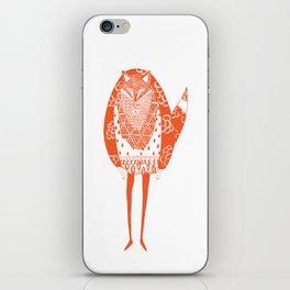 Foxman iPhone Skin