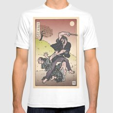 Wolverine Japanese style MEDIUM Mens Fitted Tee White