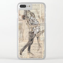 Good Morning Dearie Clear iPhone Case
