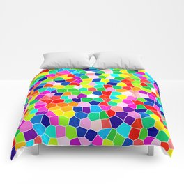 Rainbow Stained Glass Comforters