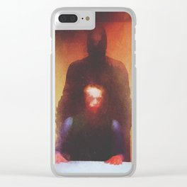 interrogation Clear iPhone Case