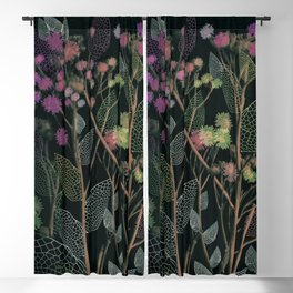 Floral Abstract 125 Blackout Curtain