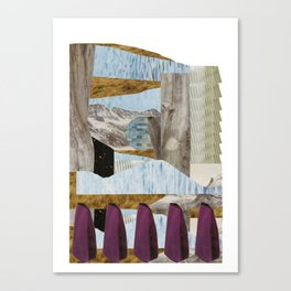 outside upside Canvas Print