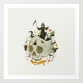 Thanatophobia Art Print