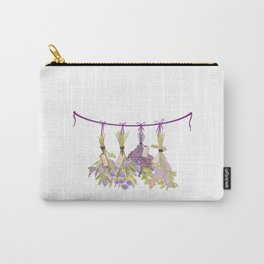 Herbs in Pastel Color #Unique Carry-All Pouch