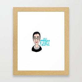 Fierce RBG Framed Art Print