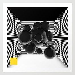 bsp - Box - V2. Art Print