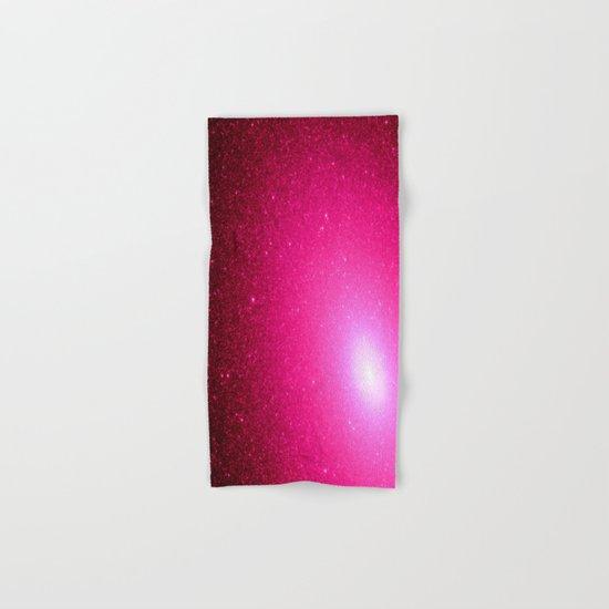 Pink Stars Hand & Bath Towel