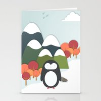 biology Stationery Cards featuring South Pole by General Design Studio