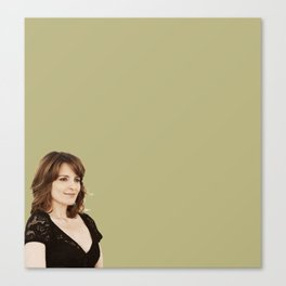 Tina Fey in Admission Canvas Print