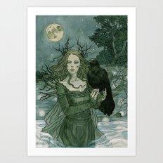 faerie night Art Print