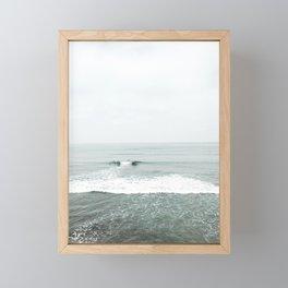 Calm Surf Framed Mini Art Print