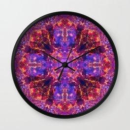 Ethereal Sea Mandala Wall Clock