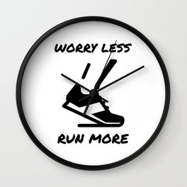 Run More Wall Clock