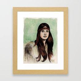 LDR VIII Framed Art Print