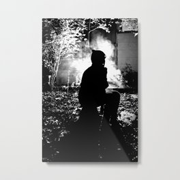 What Gets Lost In The Dark Metal Print