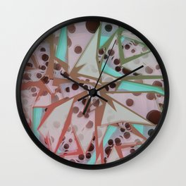 Shattered Glass Wall Clock