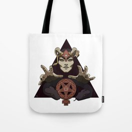 EVIL FEMINIST CULT OF FEMINISM AND EVIL Tote Bag