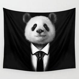 Mr. Panda  Wall Tapestry