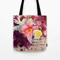 Country Floral Tote Bag