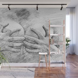 Covering Up Wall Mural