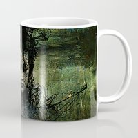 chinese Mugs featuring Chinese shade by Ganech joe