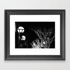 Light Blur Framed Art Print