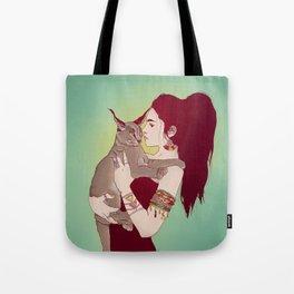 Wildcat Lady Tote Bag