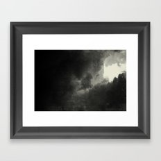 Hole In The Sky III Framed Art Print