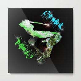 Birth Sign Gemini Metal Print