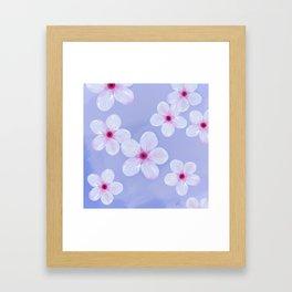 Cherry Blossoms - Painting Framed Art Print