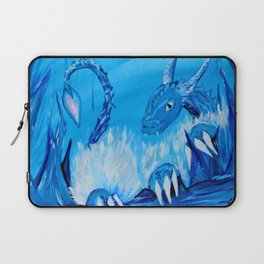 Ice Cavern Dragon Laptop Sleeve