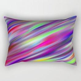 Pastel Flash Abstract Rectangular Pillow
