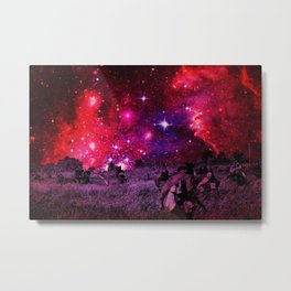 Space Soliders Metal Print