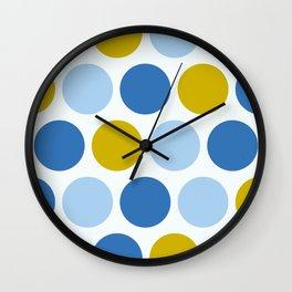 Ms Picnic Polka Dot Wall Clock