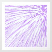 lavender Art Prints featuring Lavender. by Simply Chic