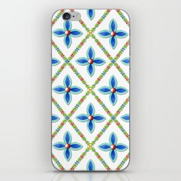 Elizabethan Folkloric Lattice iPhone Skin