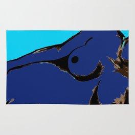 Recline in Blue Rug