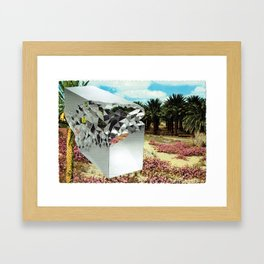 Picturesque Date Palms with Limited Edition Stellar Console Table Framed Art Print