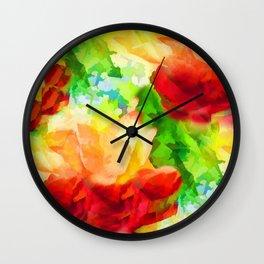Summer Blaze Wall Clock