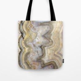 Jagged Agate Tote Bag