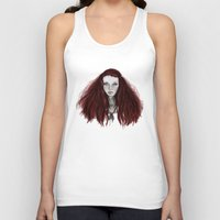 redhead Tank Tops featuring Redhead by AParry