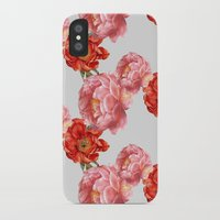 vintage floral iPhone & iPod Cases featuring vintage floral by cardboardcities