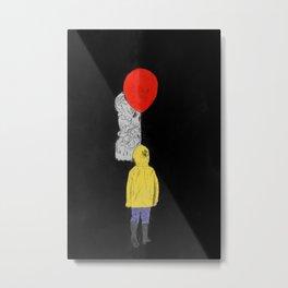 It - Watercolor Metal Print
