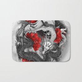 Two dragons Bath Mat